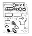 Juego juntas motor completo John Deere S.6020 4 cilindros