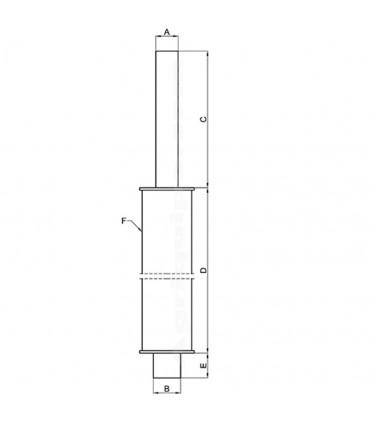 Silencioso vertical Case