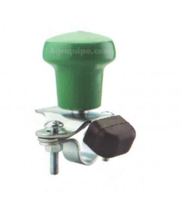 Pomo de volante verde