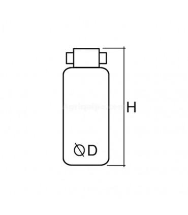 Deshidratador/Secador Con Filtro Tractores John Deere Serie 8000