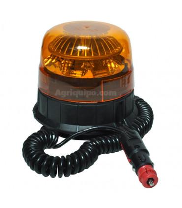 Rotativo con luz de LED y fijación magnética.
