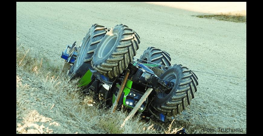 Las causas más frecuentes de accidentes con tractores