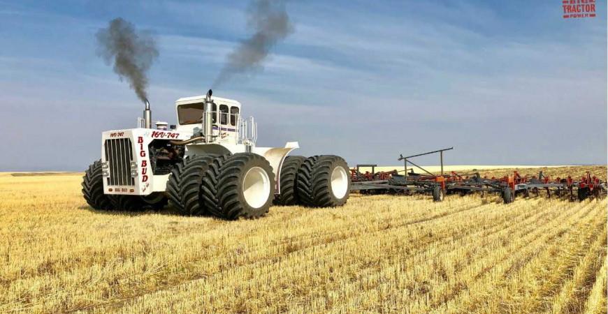 El Tractor más grande del mundo