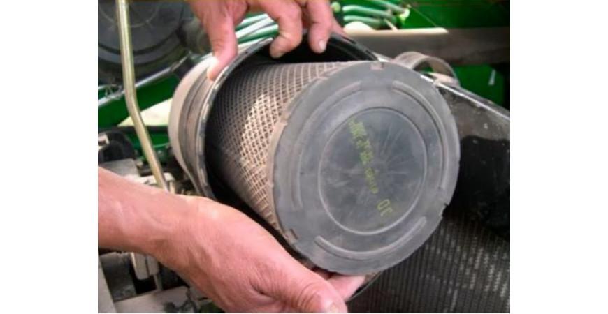 Mantenimiento del filtro del aire para tractores
