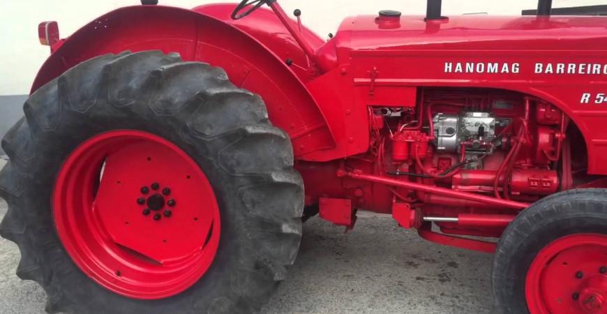 Historia de los tractores Barreiros