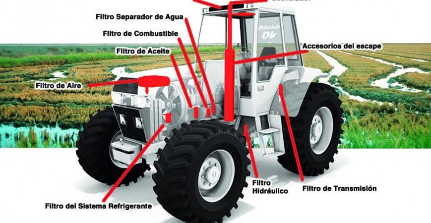 ¿Cuándo cambiar el filtro de combustible en mi tractor?